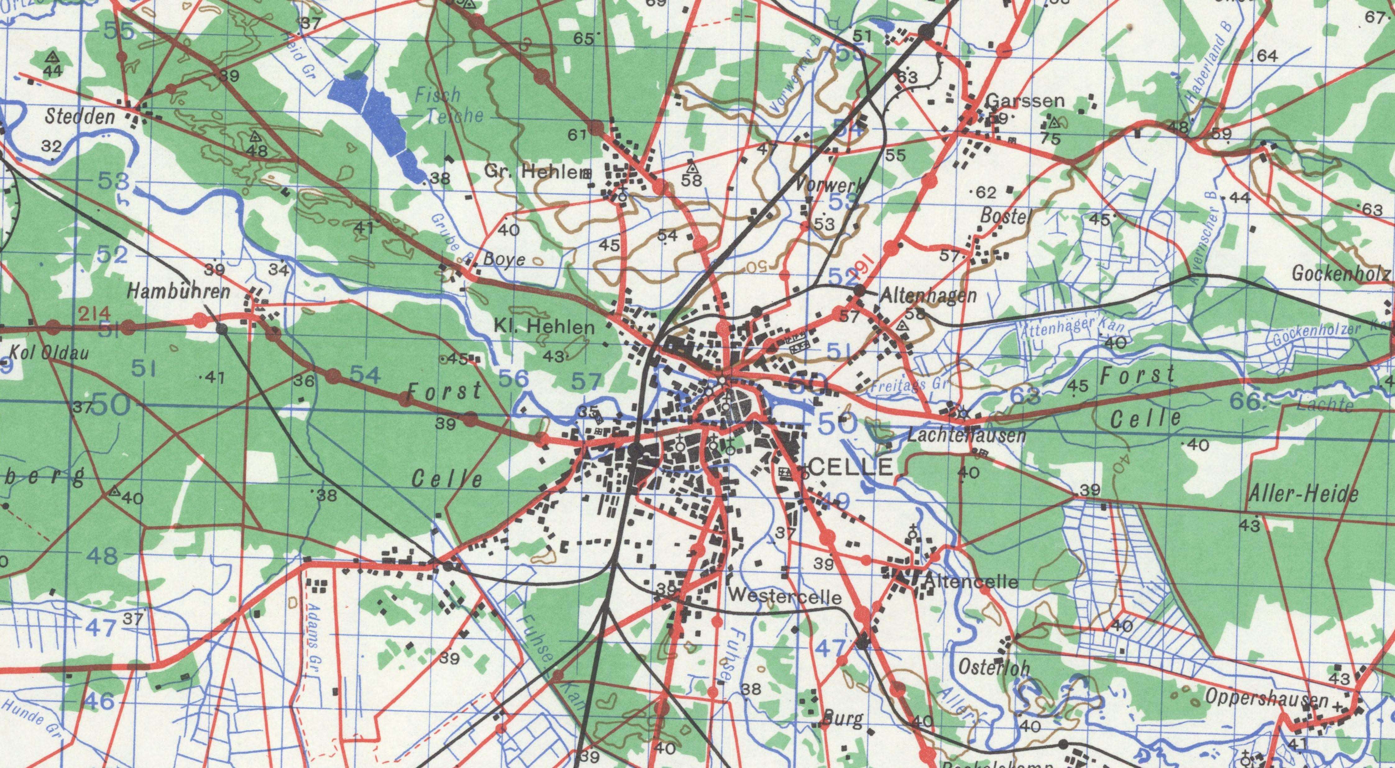 HX167 Map