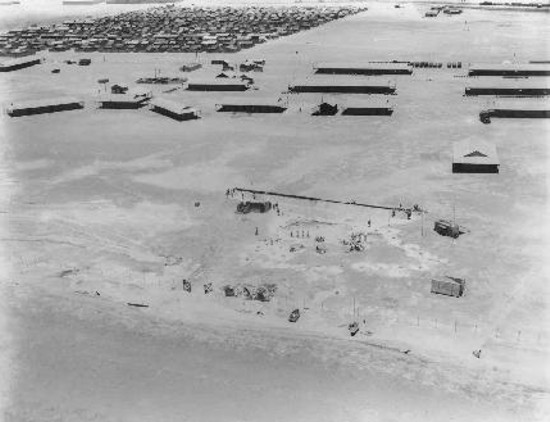 Aerial view of RAF Station Port Sudan, 1936 [RAF Museum]