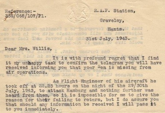 Letter Cropped [Courtesy of Kevin Gummer]