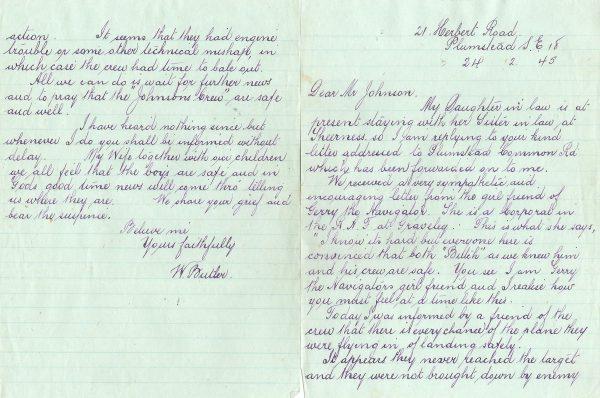 Letter (W Butler)1 [Peter Lawson]