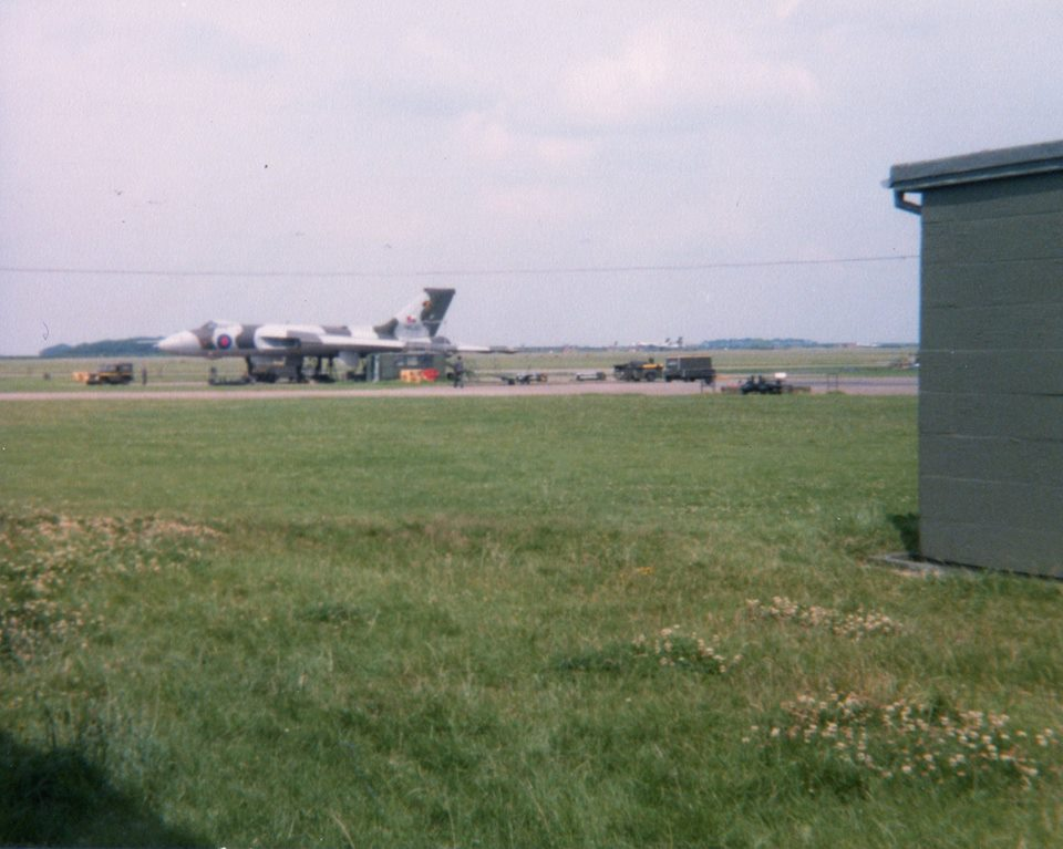 Foxtrot Dispersal at Scampton  [Courtesy of Gerry Frew].jpg