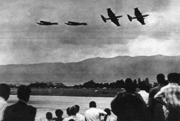 No. 35 Squadron display in Geneva 1955 [Source FlightGlobal 1st July 1955]