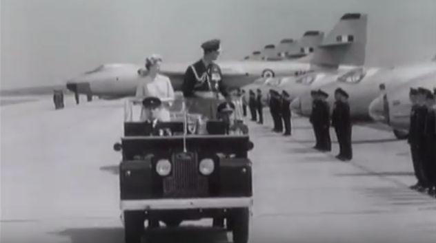 Queen at Marham 1956 ([Movietone News).jpg