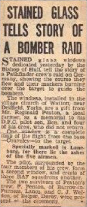 Watton Newspaper Cutting [Courtesy of Kevin Gummer].JPG