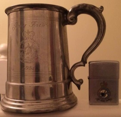 Tankard and Lighter [Courtesy of Gerry Frew]