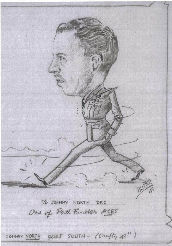 Caricature of GJ North