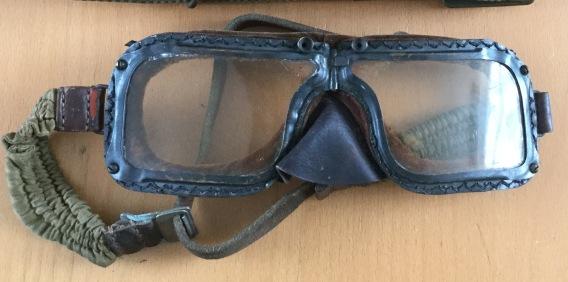 KC Gooch's Flying Goggles [Courtesy of Paul Lomax]