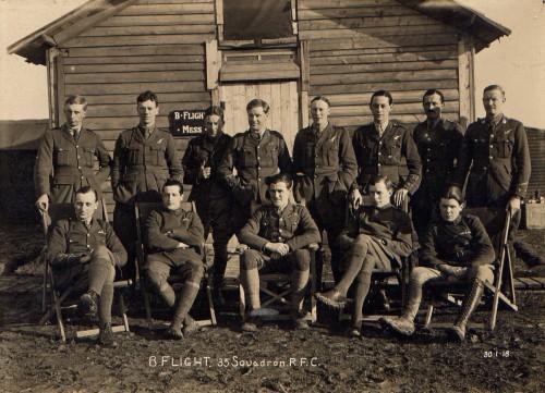 B Flight January 1918 [Courtesy of White Family]