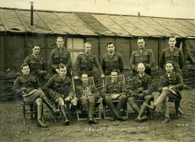 C Flight February 1918 [Courtesy of Jill Alexander]
