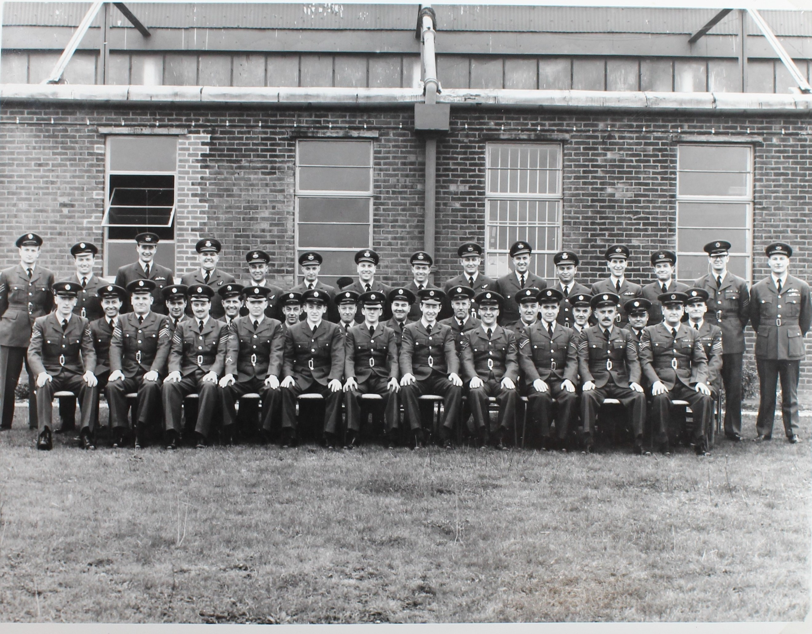 The squadron reforms at Coningsby 1962 [Courtesy of Marham Aviation Heritage Centre]